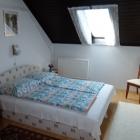 4 fős családi apartman, nagy terasszal a Balaton déli partján, Balatonfenyvesen, közvetlen vízparton, Badacsonyi panorámás AP2